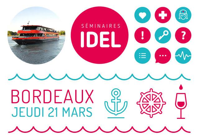 Séminaires IDEL Jeudi 21 mars à Bordeaux